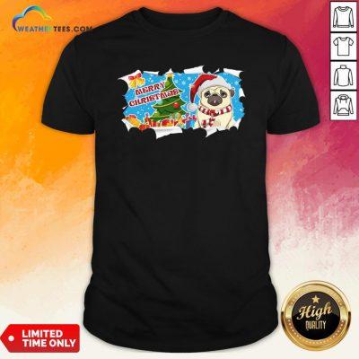 Do Merry Christmas Pug Shirt - Design By Weathertees.com