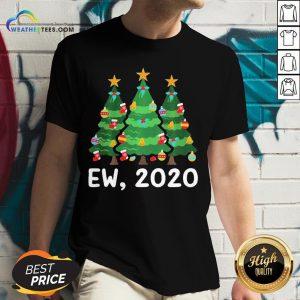 Good Ew 2020 Funny Christmas Pajama For Family V-neck- Design By Weathertees.com