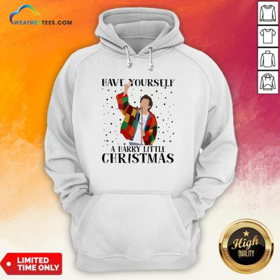 Hot Louis Tomlinson Have Yourself A Harry Little Christmas Hoodie - Design By Weathertees.com