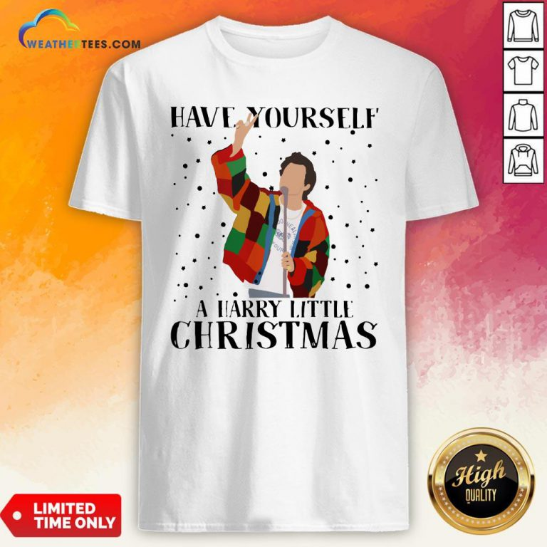 Hot Louis Tomlinson Have Yourself A Harry Little Christmas Shirt - Design By Weathertees.com
