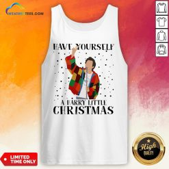 Hot Louis Tomlinson Have Yourself A Harry Little Christmas Tank Top - Design By Weathertees.com