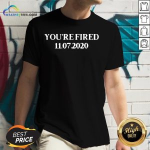 Hot You Are Fired Trump Democrats V-neck - Design By Weathertees.com