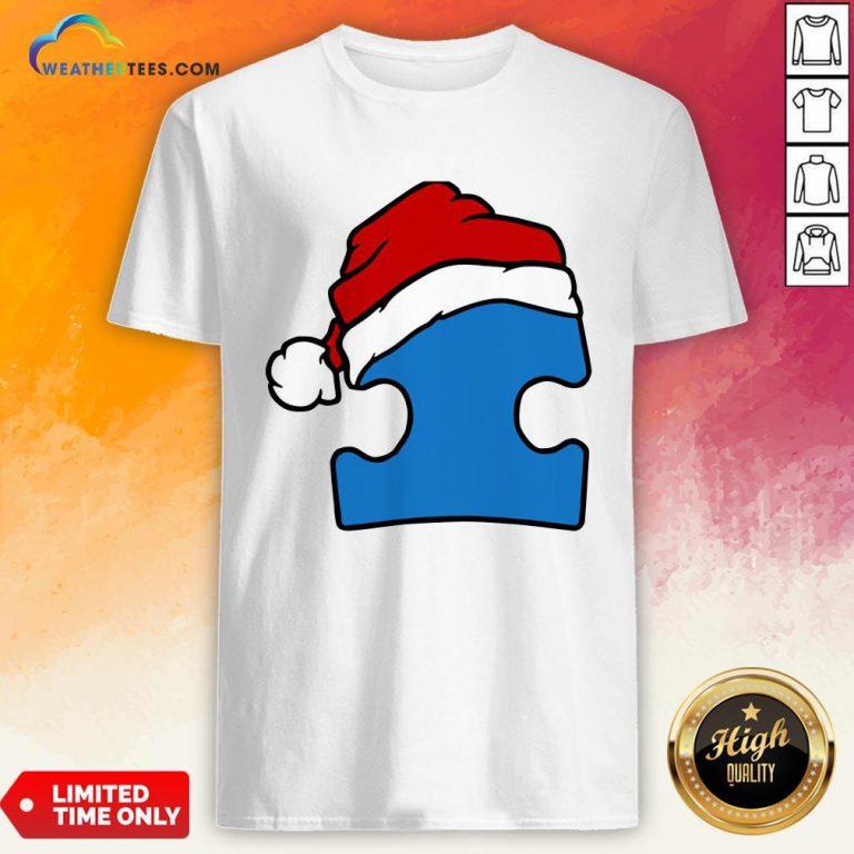 Hour Santa Autism Christmas Shirt - Design By Weathertees.com