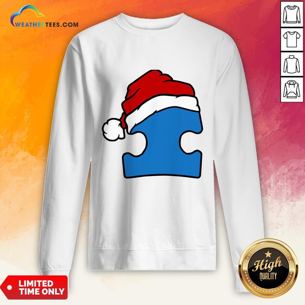 Hour Santa Autism Christmas Sweatshirt - Design By Weathertees.com
