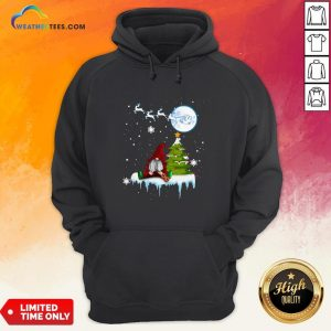 How Gnome Play Violin Merry Christmas Hoodie - Design By Weathertees.com