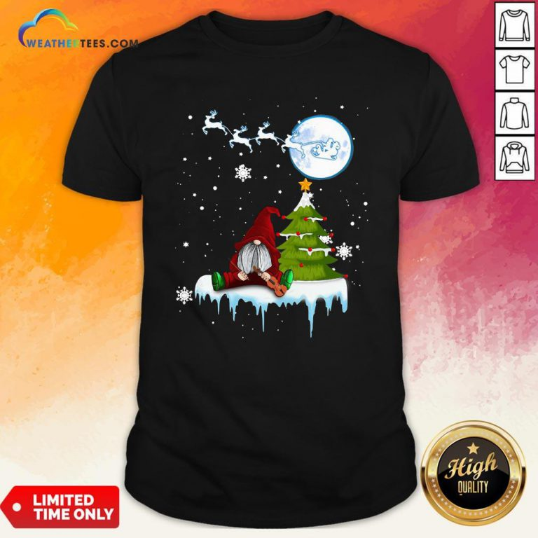 How Gnome Play Violin Merry Christmas Shirt - Design By Weathertees.com