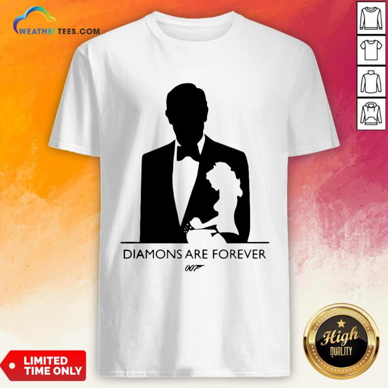 Kill James Bond Diamond Are Forever 007 Shirt - Design By Weathertees.com