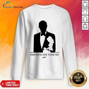 Kill James Bond Diamond Are Forever 007 Sweatshirt - Design By Weathertees.com