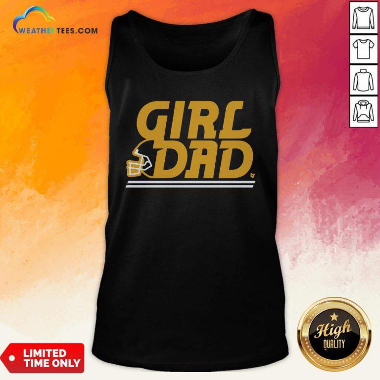 Like Kc Girl Dad Tank Top - Design By Weathertees.com