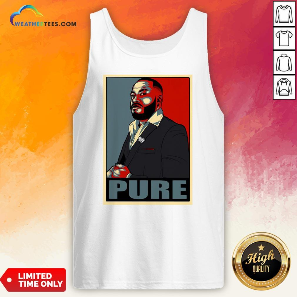 Long Pure I Am The Foundation Tank Top - Design By Weathertees.com