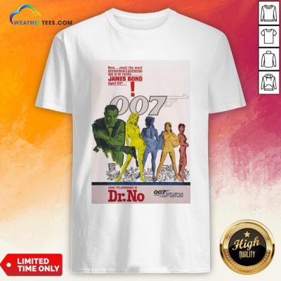 Make James Bond 007 Dr No Shirt - Design By Weathertees.com