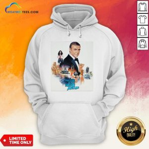 Mr Sean Connery Never Say Never Again Hoodie - Design By Weathertees.com