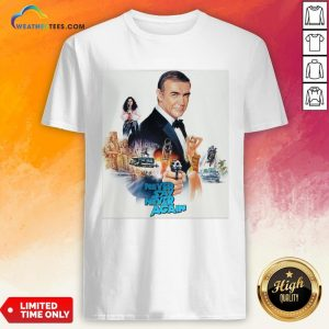 Mr Sean Connery Never Say Never Again Shirt- Design By Weathertees.com
