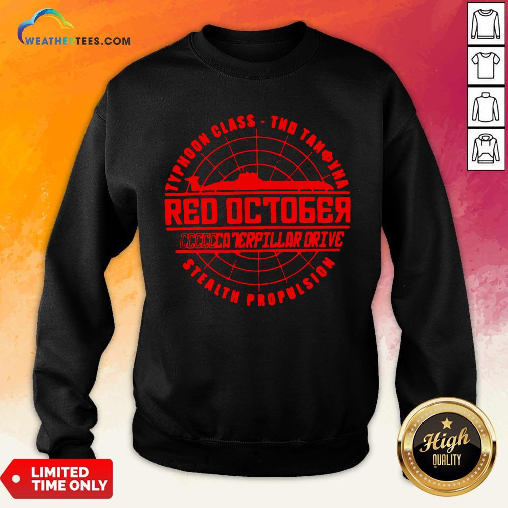 Much The Hunt For Red October Movie Themed Retro Hunt Sweatshirt - Design By Weathertees.com
