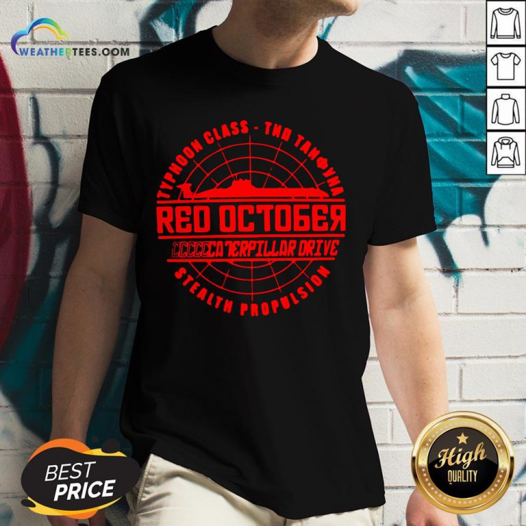 Much The Hunt For Red October Movie Themed Retro Hunt V-neck - Design By Weathertees.com