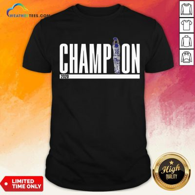 New Kershaw 22 Champion 2020 Shirt- Design By Weathertees.com