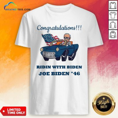 Nice Congratulations President Joe Biden 46 Biden Harris 2020 Shirt - Design By Weathertees.com