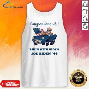 Nice Congratulations President Joe Biden 46 Biden Harris 2020 Tank Top - Design By Weathertees.com