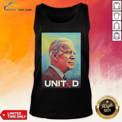 Nice Joe Biden United Gift Tank Top- Design By Weathertees.com