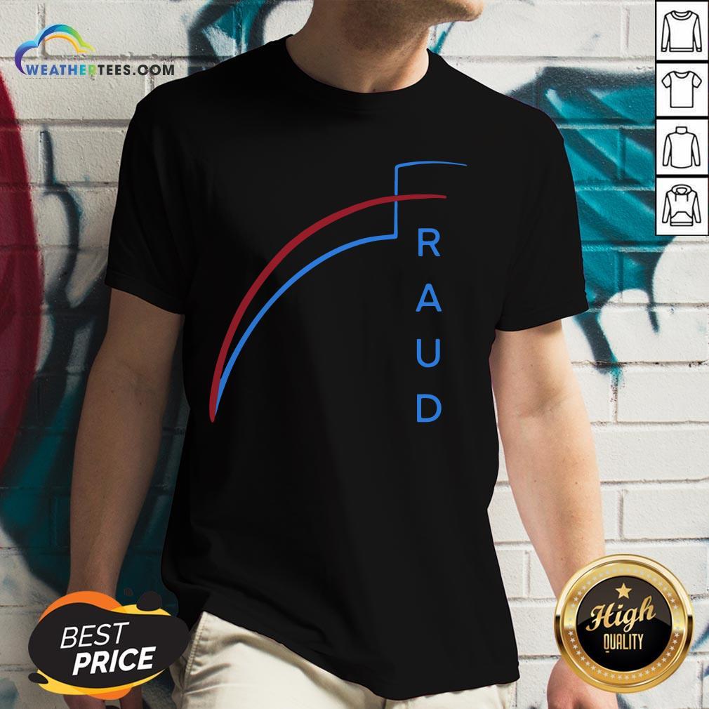 Official 2020 Was Rigged Election Voter Fraud Suppression V-neck - Design By Weathertees.com
