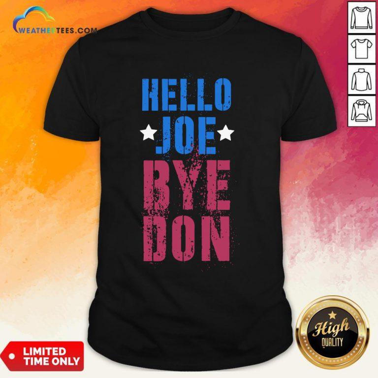 Official ByeDon Vintage Biden 8645 Anti Trump Hello Joe Bye Don 2020 Shirt - Design By Weathertees.com