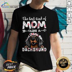 OtherThe Best Kind Of Mom Raises A Dachshund Dog V-neck - Design By Weathertees.com