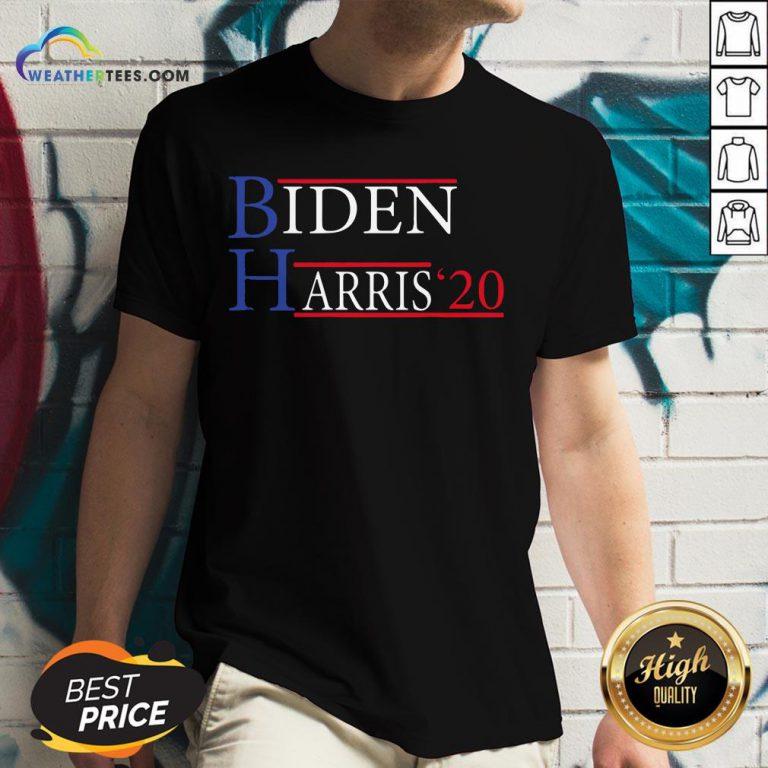 Premium Democrat Elections President Vote Biden Harris Unisex V-neck- Design By Weathertees.com