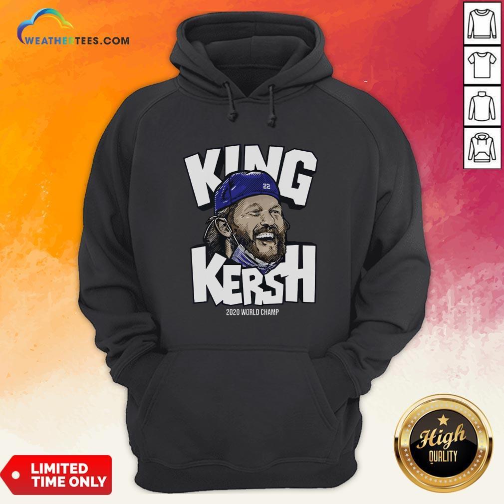 Premium King Kersh Wear Mask 2020 World Champ Los Angeles Hoodie - Design By Weathertees.com