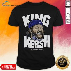 Premium King Kersh Wear Mask 2020 World Champ Los Angeles Shirt - Design By Weathertees.com