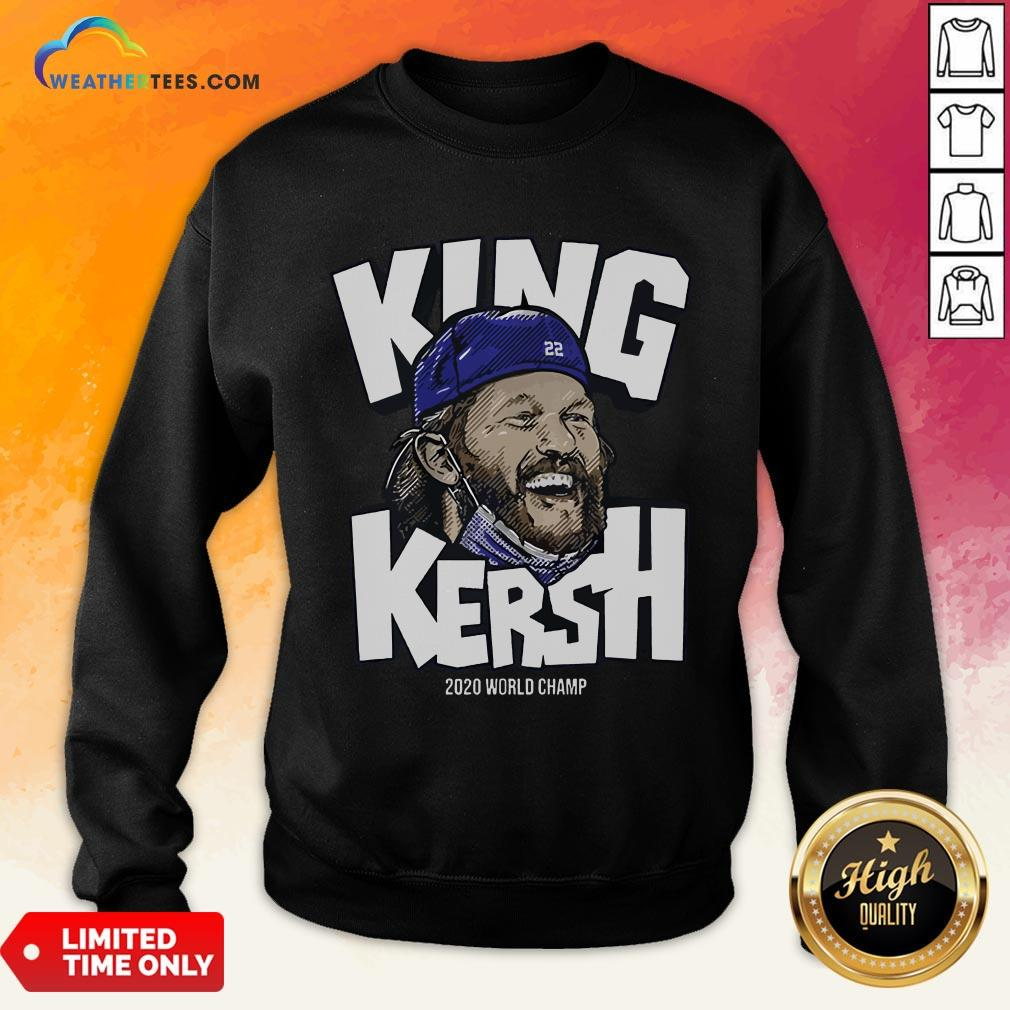 Premium King Kersh Wear Mask 2020 World Champ Los Angeles Sweatshirt- Design By Weathertees.com