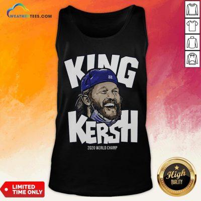 Premium King Kersh Wear Mask 2020 World Champ Los Angeles Tank Top- Design By Weathertees.com