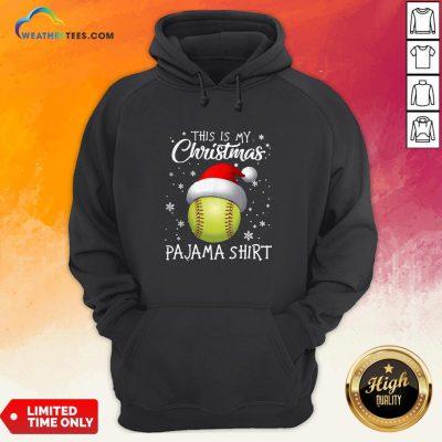 Save This Is My Christmas Baseball Pajama Hoodie - Design By Weathertees.com