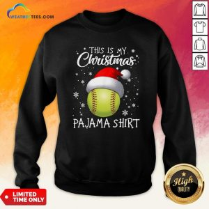 Save This Is My Christmas Baseball Pajama Sweatshirt - Design By Weathertees.com