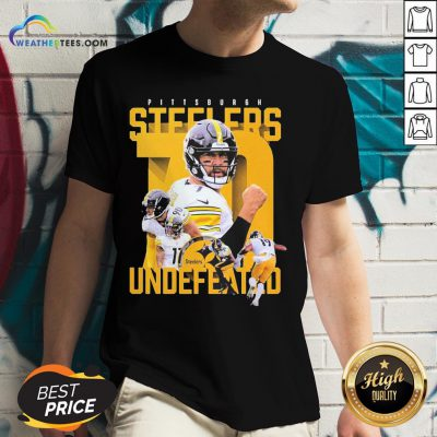 Sorry Funny Pittsburgh Steelers Undefeated V-neck - Design By Weathertees.com
