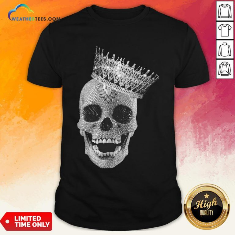 Strong King Skull Diamond Shirt - Design By Weathertees.com