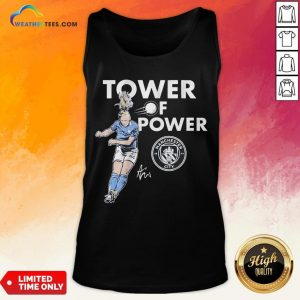 Talk Kristie Mewis Tower Of Power Manchester City Signature Tank Top- Design By Weathertees.com