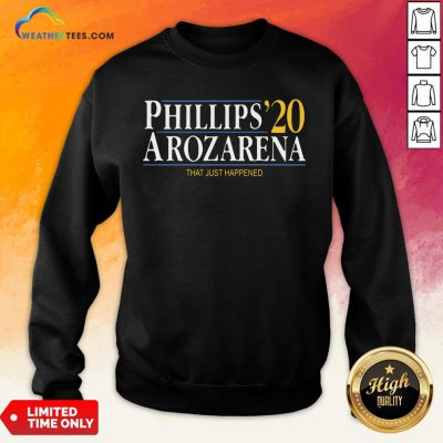 Things Phillips Arozarena 2020 Sweatshirt - Design By Weathertees.com