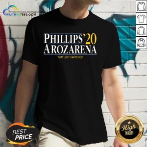 Things Phillips Arozarena 2020 V-neck - Design By Weathertees.com