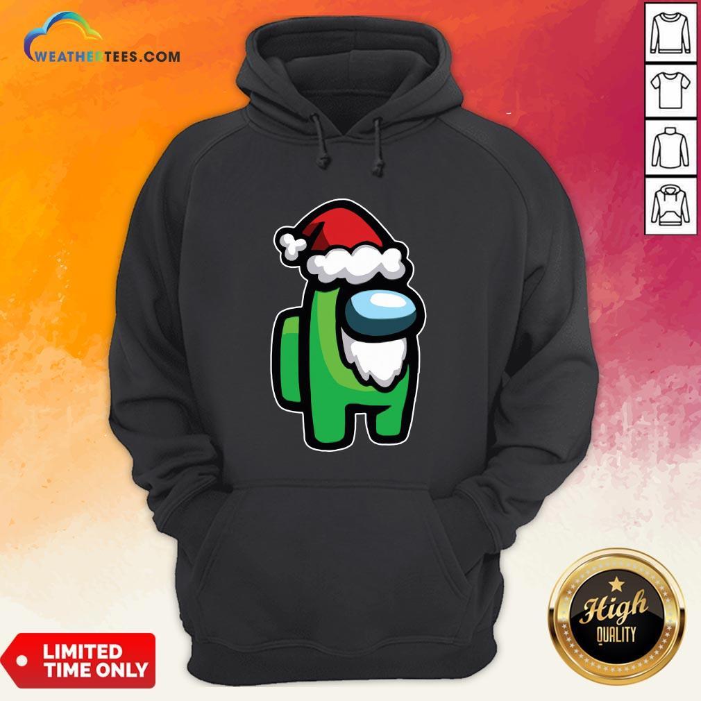 Tool Among Us Santa Christmas Hoodie- Design By Weathertees.com