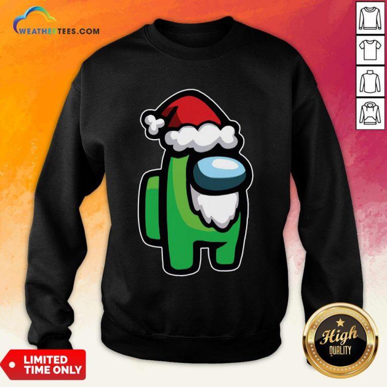 Tool Among Us Santa Christmas Sweatshirt - Design By Weathertees.com