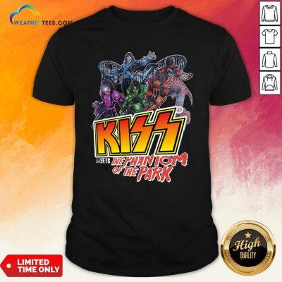 Vibe Kiss Meets The Phantom Of The Park Shirt - Design By Weathertees.com