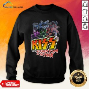 Vibe Kiss Meets The Phantom Of The Park Sweatshirt - Design By Weathertees.com