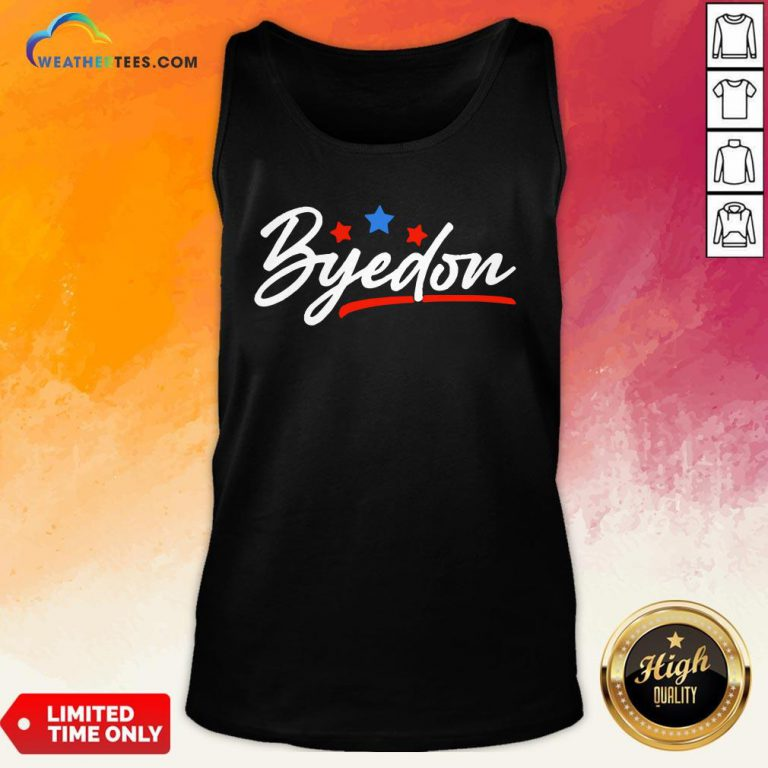 Well Byedon 2020 Byedon Joe Biden Kamala Anti Trump 2020 Tank Top - Design By Weathertees.com