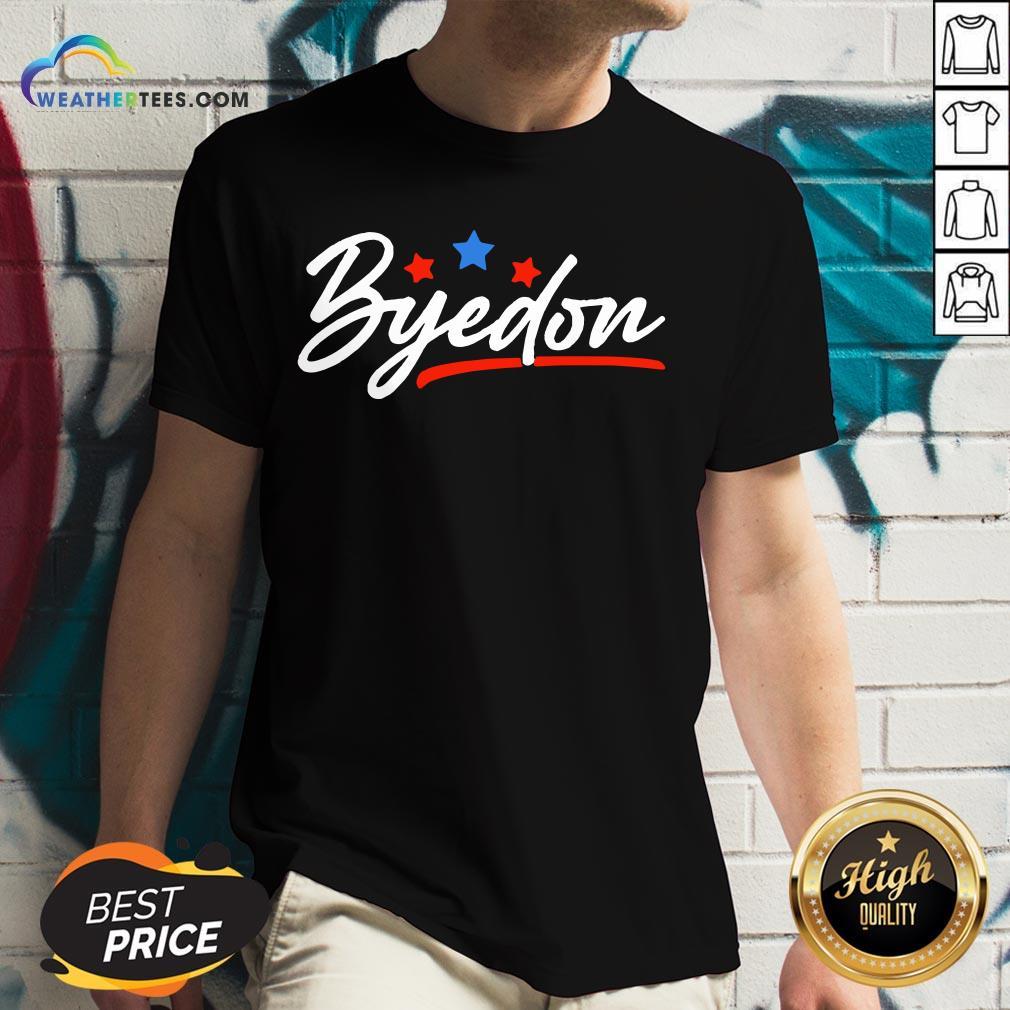 Well Byedon 2020 Byedon Joe Biden Kamala Anti Trump 2020 V-neck - Design By Weathertees.com