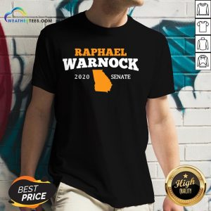 Well Raphael Warnock 2020 Senate Georgia V-neck- Design By Weathertees.com