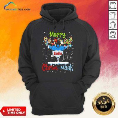 Merry CNA 2020 Christ Mask Christmas Hoodie - Design By Weathertees.com