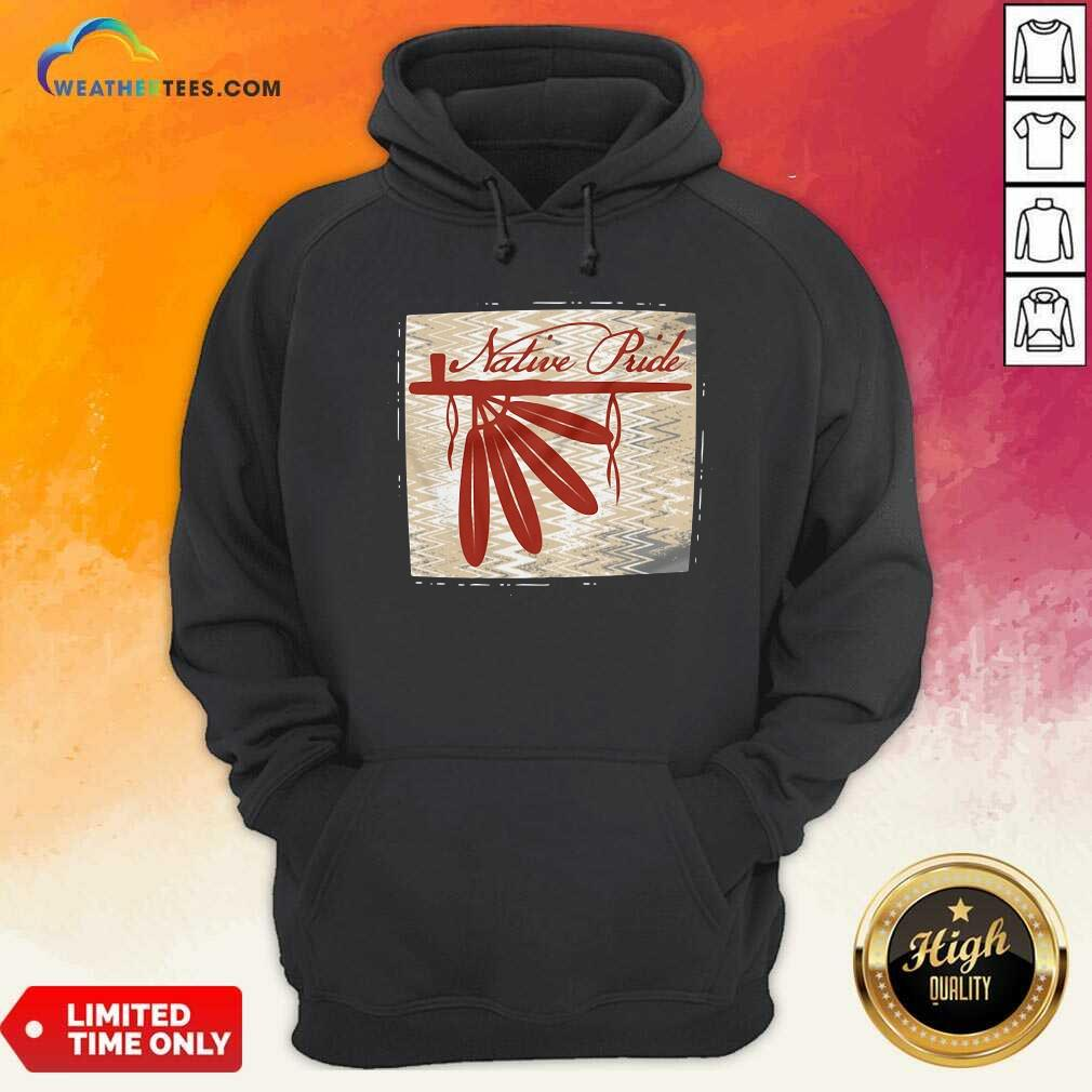 Peace Pipe Native Pride Hoodie - Design By Weathertees.com