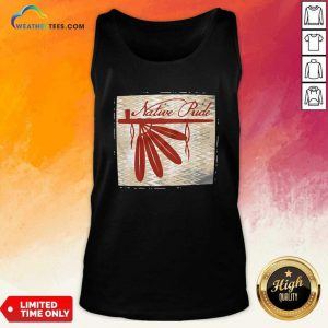 Peace Pipe Native Pride Tank Top - Design By Weathertees.com