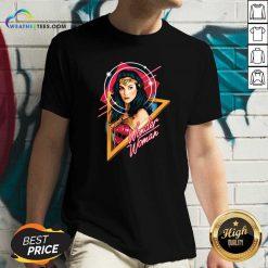 Gal Gadot Wonder Woman Signature V-neck - Design By Weathertees.com