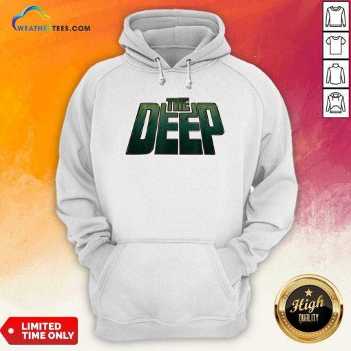 The Deep Logo Hoodie - Design By Weathertees.com